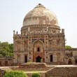 Ancient Dome Bara Gumbad Tomb Lodi Gardens New Delhi India — Stock Photo