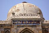 Antiga cúpula sheesh shish gumbad tumba lodi jardins ind de nova deli — Foto Stock