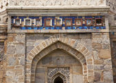 Islamic Decorations Sheesh Shish Gumbad Tomb Lodi Gardens New De — Stock Photo