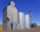 Wheat Granary Storage Palouse Washington State — Stock Photo