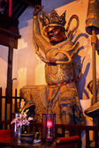 Tempel wächter statue jade buddha tempel jufo si shanghai china — Stockfoto