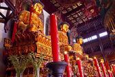 Buddhist Statues Jade Buddha Temple Jufo Si Shanghai China — Stock Photo