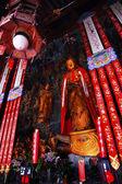 Buddhistische statue jade buddha tempel jufo si shanghai china — Stockfoto