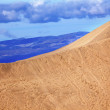 Large Sand Dune Mesquite Flat Dunes Grapevine Mountains Death Va — Stock Photo