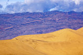 Mesquite Flat Dunes Grapevine Mountains Death Valley National Pa — Stock Photo