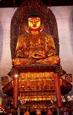 Statue bouddhiste jade tr jufo temple de bouddha de shanghai chine — Photo