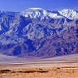 Snowy Panamint  Mountains Death Valley National Park California - Stock Photo