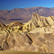 Zabruski Point Manly Beacon Death Valley National Park Californi — Stock Photo