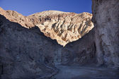 Golden Canyon Entrance Road Death Valley National Park Californi — Stock Photo
