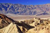 Zabruski noktası ölüm vadisi milli park california moon — Stok fotoğraf