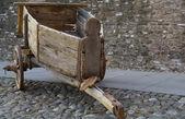 Starý dřevěný vůz — Stock fotografie