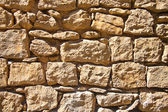 Stone wall background and texture — Stock Photo