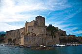 The town of Collioure in Languedoc-Roussillon in France — Stock Photo