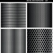 Metal Grill - set - Stock Vector