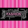 FASHION - Word collage — Stock Vector #6988997