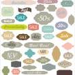 Royalty-Free Stock Vector Image: Vintage Sale Labels