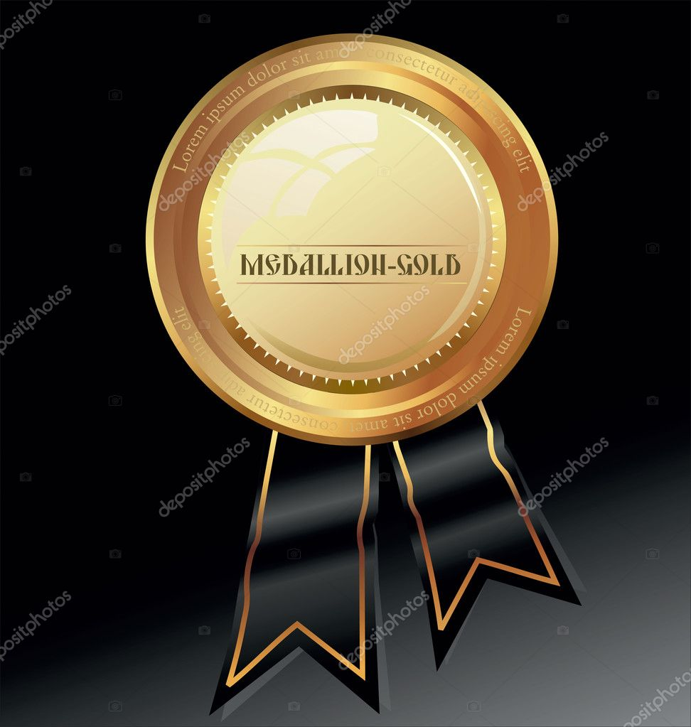 Golden luxury label — Stock Vector #7097807