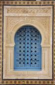 Typical oriental window portal — Stock Photo