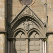 Stock Photo: Side door of Nidaros Cathedral in Trondheim, Norway