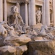 Fountain Di Trevi in Rome — Stock Photo