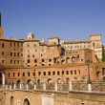 Forum Romanum ancient monuments in Rome — Stock Photo #7296257