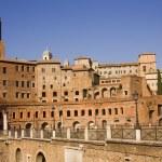 Forum Romanum ancient monuments in Rome — Stock Photo