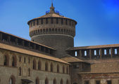 Sforzesco Castle in Milan — Stock Photo