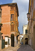 Typical street in Padua — Stock Photo