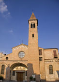 Church tower in Padua — Stock Photo