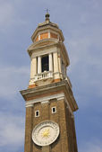 Clock tower with 24hr face in Venice — Stock Photo