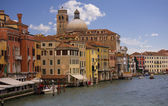Venice view with the Grand Canal — Stock Photo