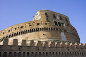 Side view of Castle Saint Angelo in Rome — Stock Photo