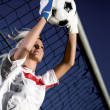 Royalty-Free Stock Photo: Goalkeeper