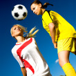 Soccer girls — Stock Photo #6854137