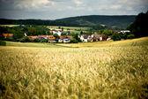 Rural lansdscape near Coburg — Stock Photo