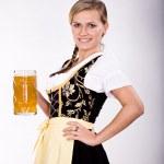 Bavarian girl — Stock Photo #7087781