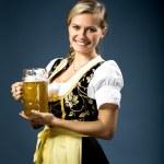 Bavarian girl — Stock Photo #7087790
