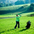 Playing golf — Stock Photo #7109932