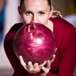 Bowling girl — Stock Photo #7261529