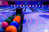 Bowling center — Stock Photo