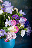 Bunch of spring flowers — Stock Photo