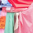 Gingham cloths — Stock Photo