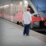 Railwayman — Stock Photo