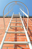 Ladder to the roof — Stock Photo