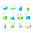 Science Energy , vector icon set — Stock Vector