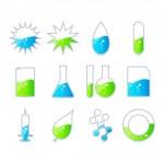 Science Energy , vector icon set — Stock Vector