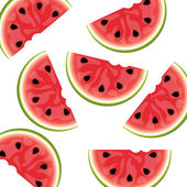 Watermelon background isolated — Stock Vector