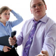 Aggressive boss — Stock Photo #7643594