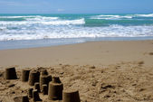 Sea and sand — Stock Photo