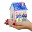 Stock Photo: House in the hands